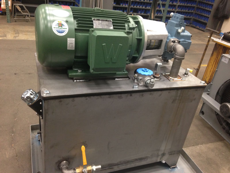 Hydraulic Power Pack in construction Zeus Hydratech